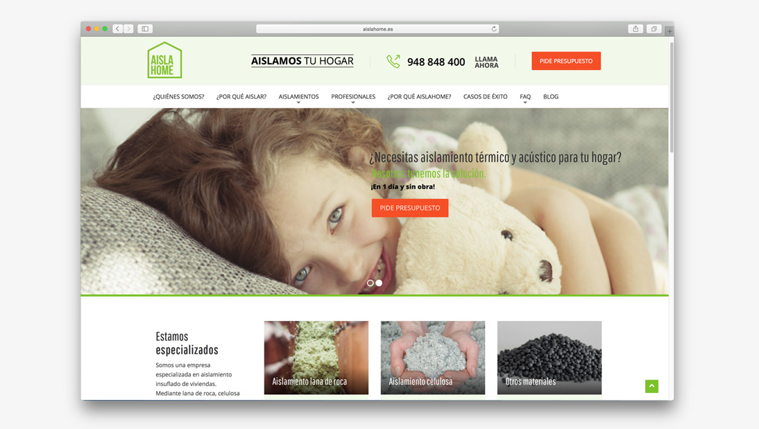 Proyecto web Aislahome