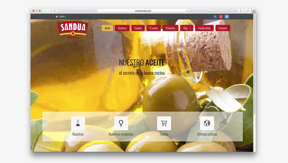 Proyecto tienda online Aceite Sandua