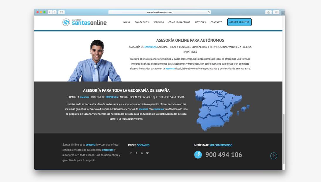 Proyecto web Asesoria online Santas