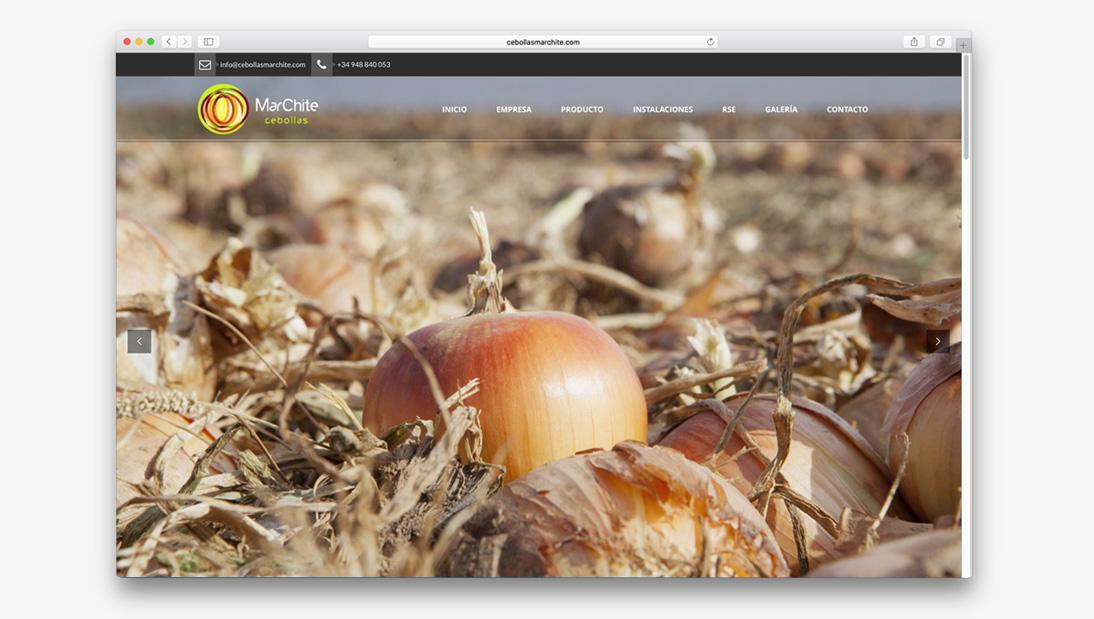 Proyecto web Cebollas Marchite