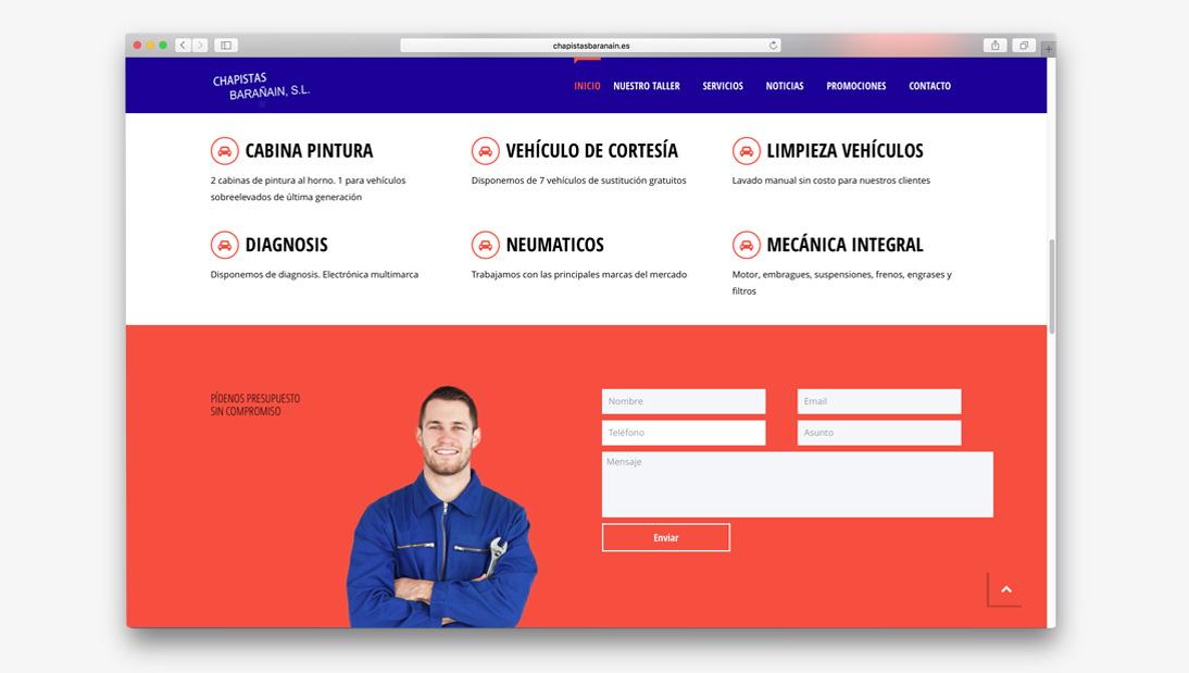 Proyecto web Chapistas Barañain