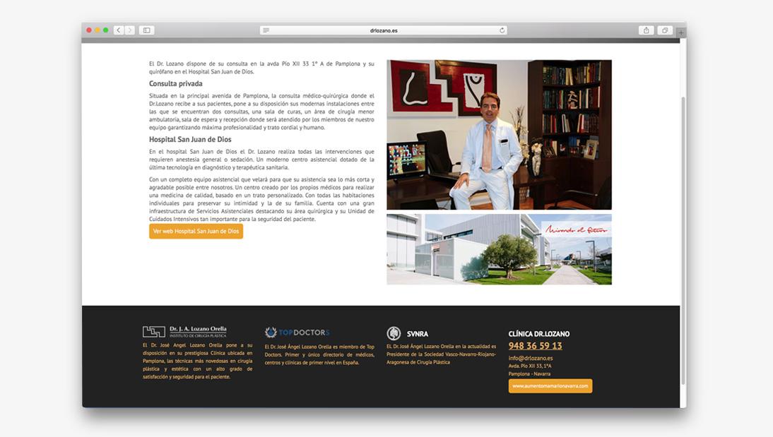 Proyecto web Dr. Lozano