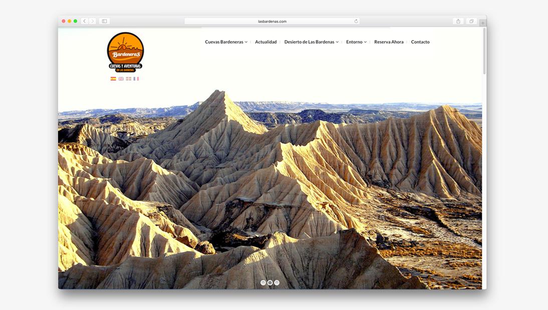 Proyecto web Las bardenas