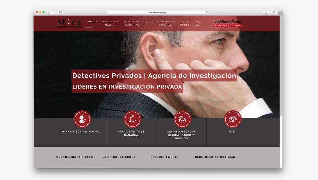 Proyecto web Mira Detectives