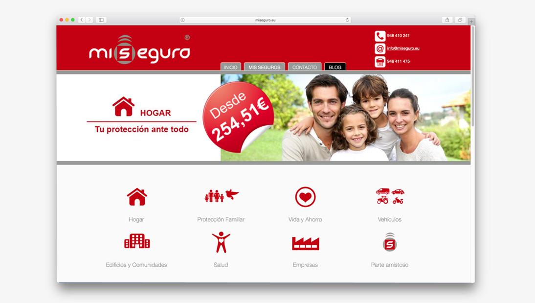 Proyecto web Miseguro