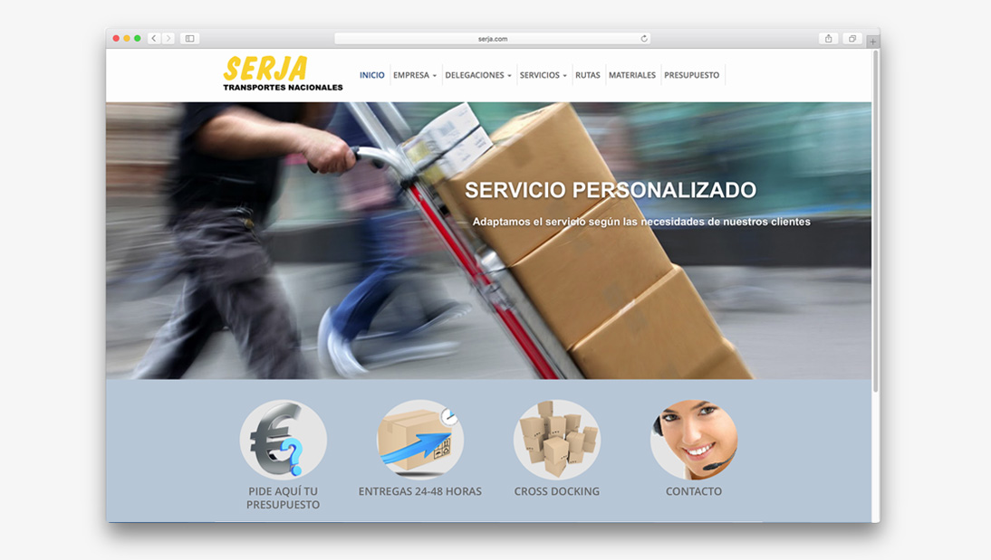 Proyecto web Serja