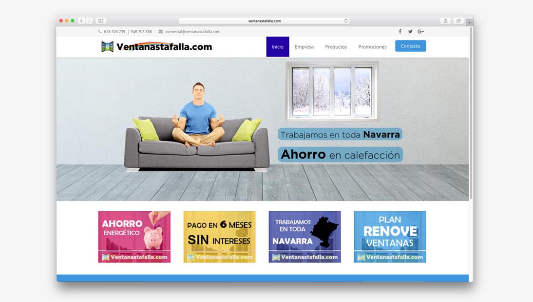 Proyecto web Ventanas Tafalla