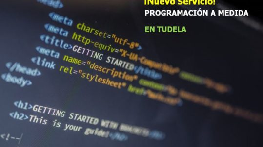 Programación a medida en Tudela