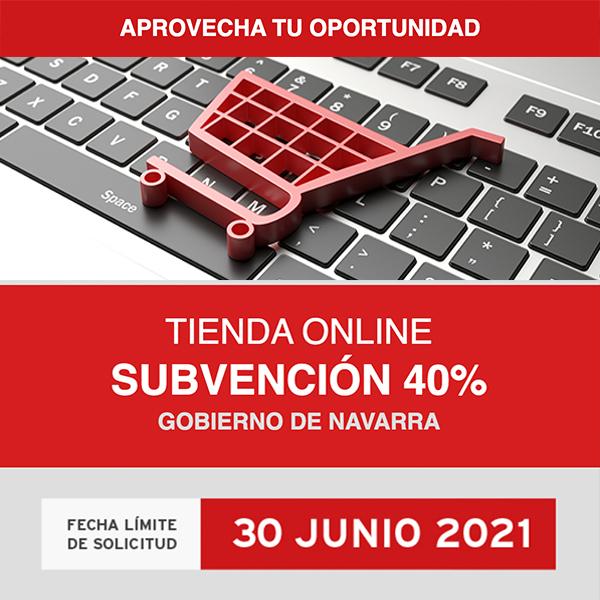 Subvención Gobierno de Navarra Tiendas online