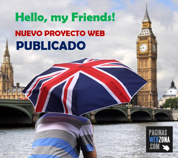 Página Web Academia Inglés Zaragoza